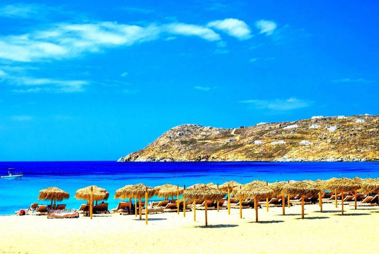Mykonos, Spiagge