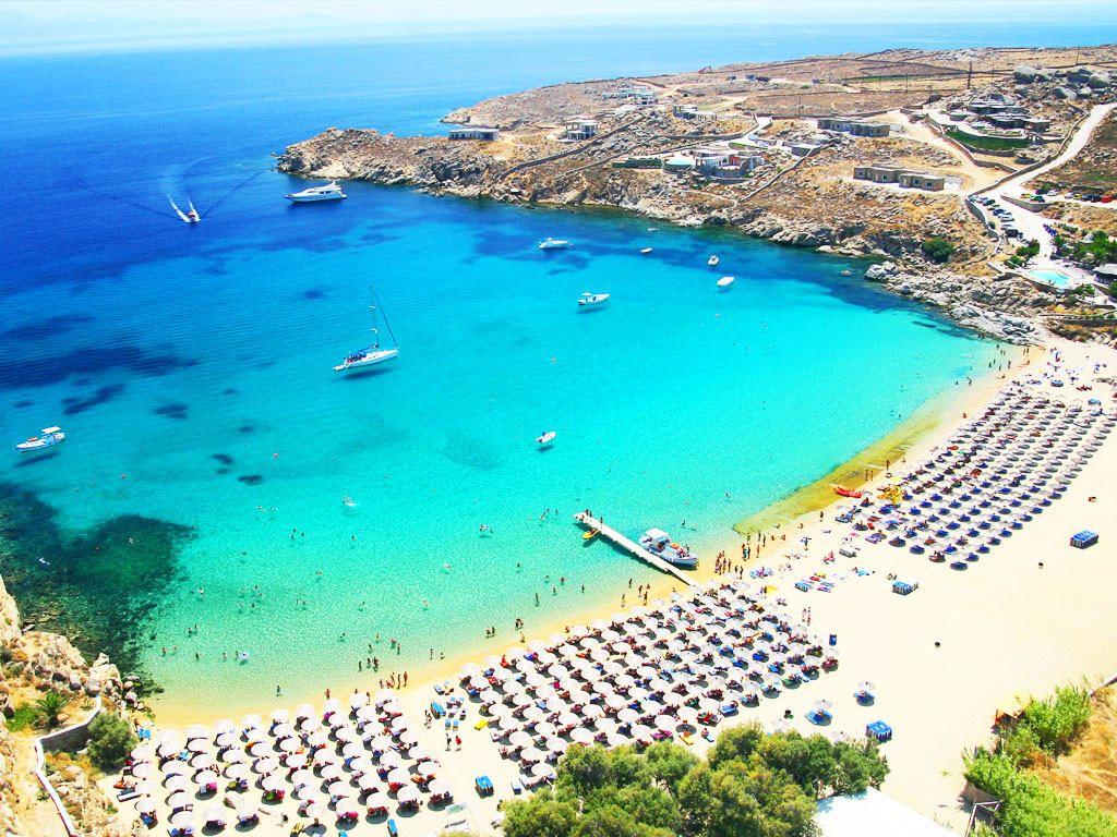 Best Island Beaches For Partying Mykonos St Barts: Top 8 Best Beaches To Visit On Mykonos Island, Greece