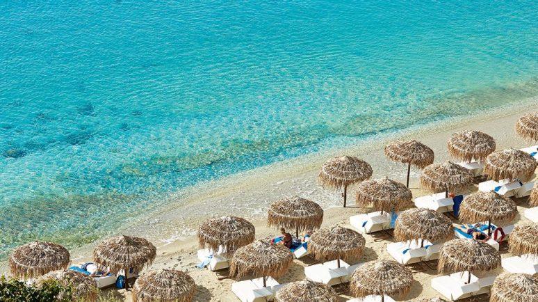 Psarou Beach, Mykonos